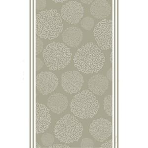 asha tea towel - elephant grey