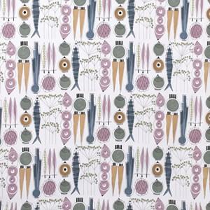 picknick fabric - blossom & sage
