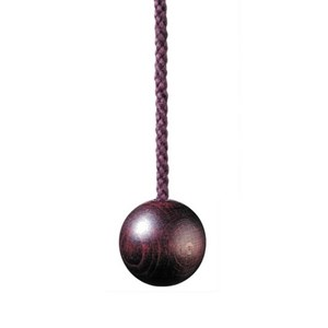 wooden ball 30mm light pull - mulberry