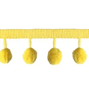 chartreuse pom pom braid a decorative modern contemporary interior trimming