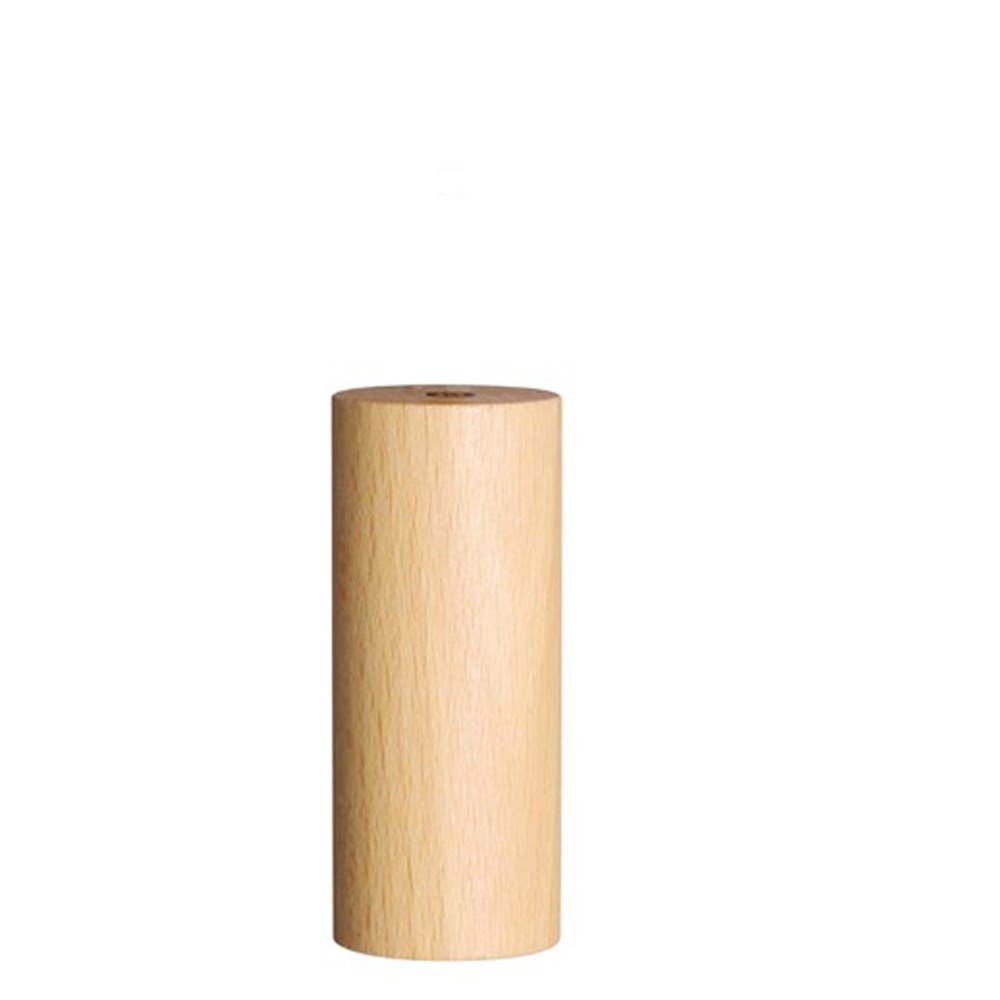 Wooden Cylinder Roman Blind Pull Natural