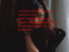 Get your lover back instantly with my love spells 27630416728
