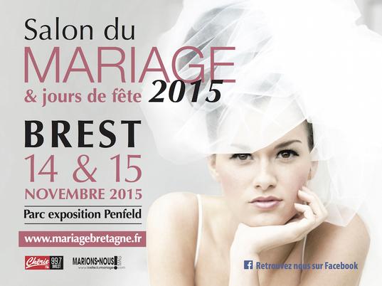 Billetterie salon du mariage brest 2015 for Salon gastronomie brest 2017