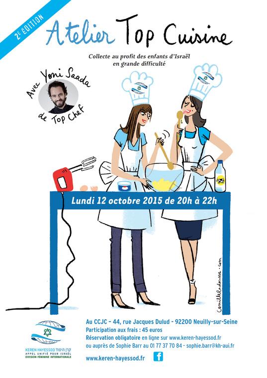 billetterie : atelier cuisine avec yoni saada - Cours De Cuisine Neuilly Sur Seine