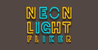 Neon Light Flicker Sound Effect