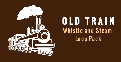 Old Train Whistle and Steam Loop Pack