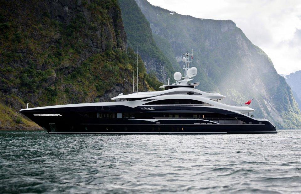 ann g super yacht