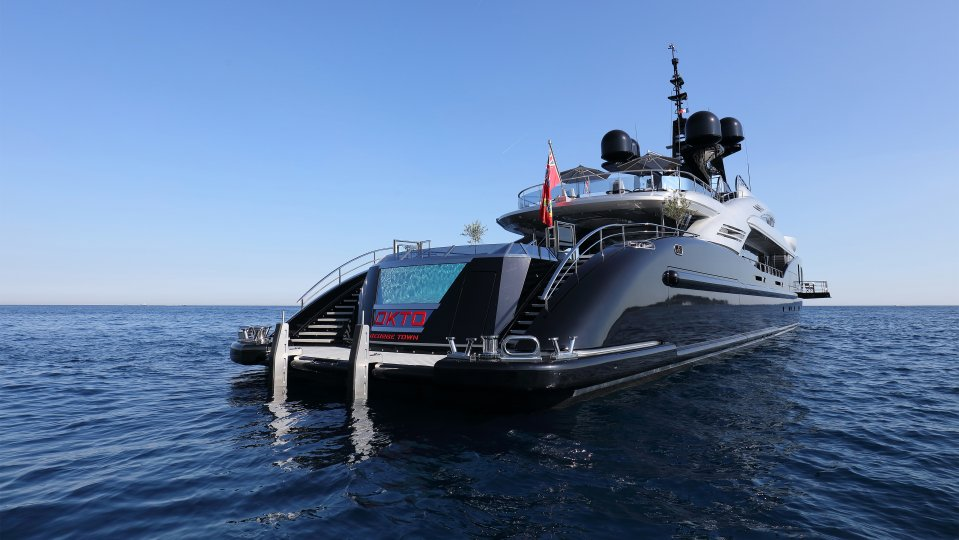 Mega Yachts With Pools For Sale Y Co