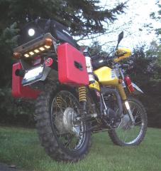 1975 DT400 Adventure Bike
