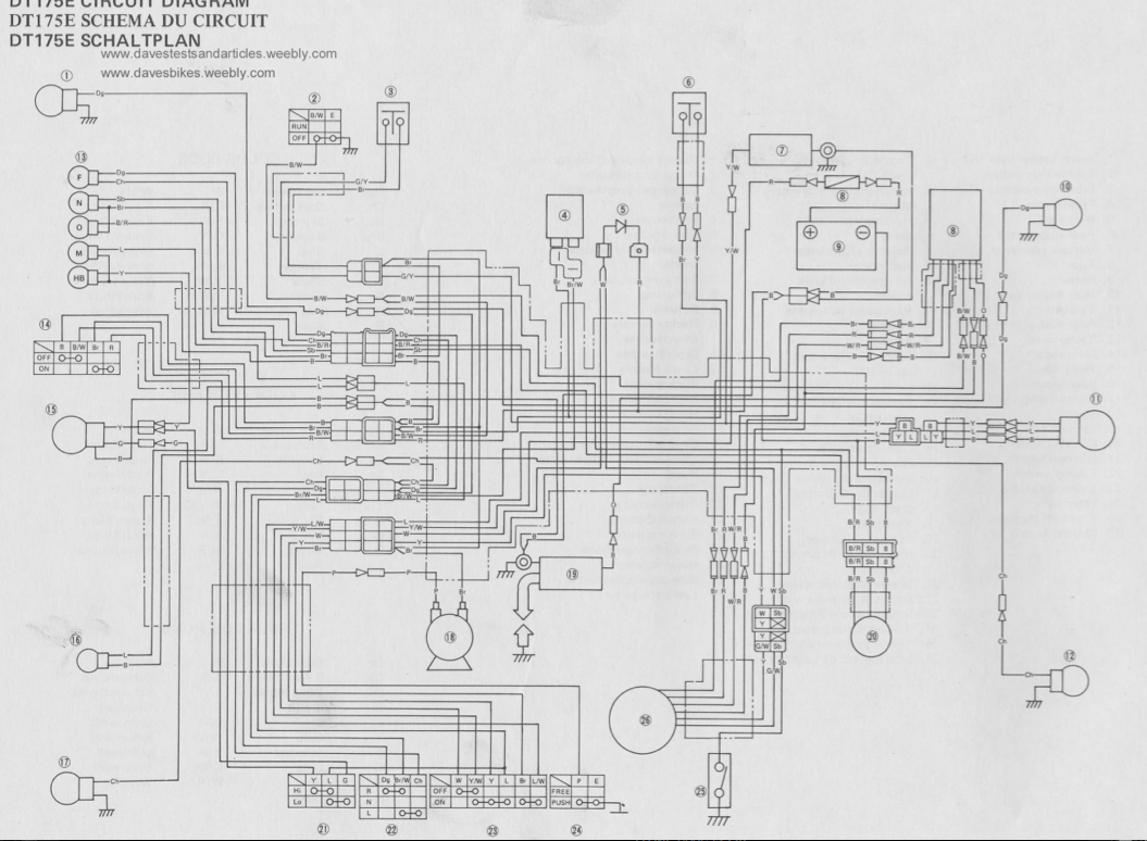 Dt 175 Wiring Diagram Electrical Yamaha 1978 Dt175 Ignition Points Classics Owners Club Rh Yamahaclub Com