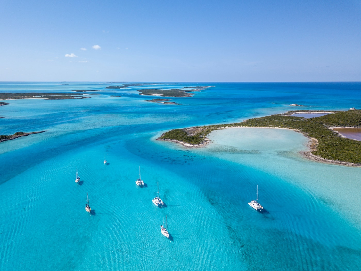 Shroud Cay - Exumas boats for charter