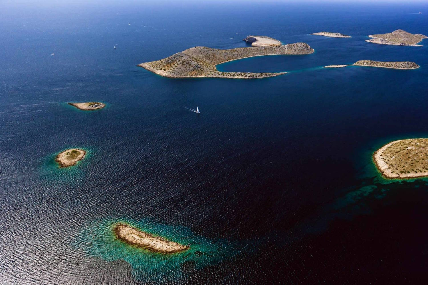 Sailing in Croatia and the Kornati islands
