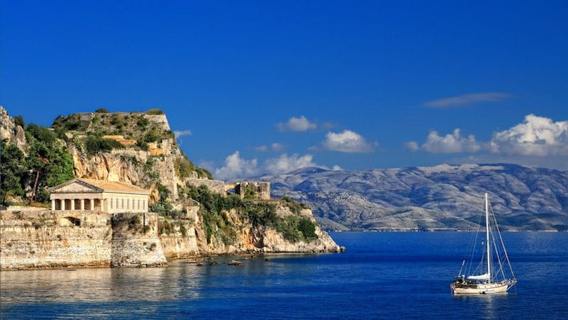 Sailing holidays in Corfu, Greece