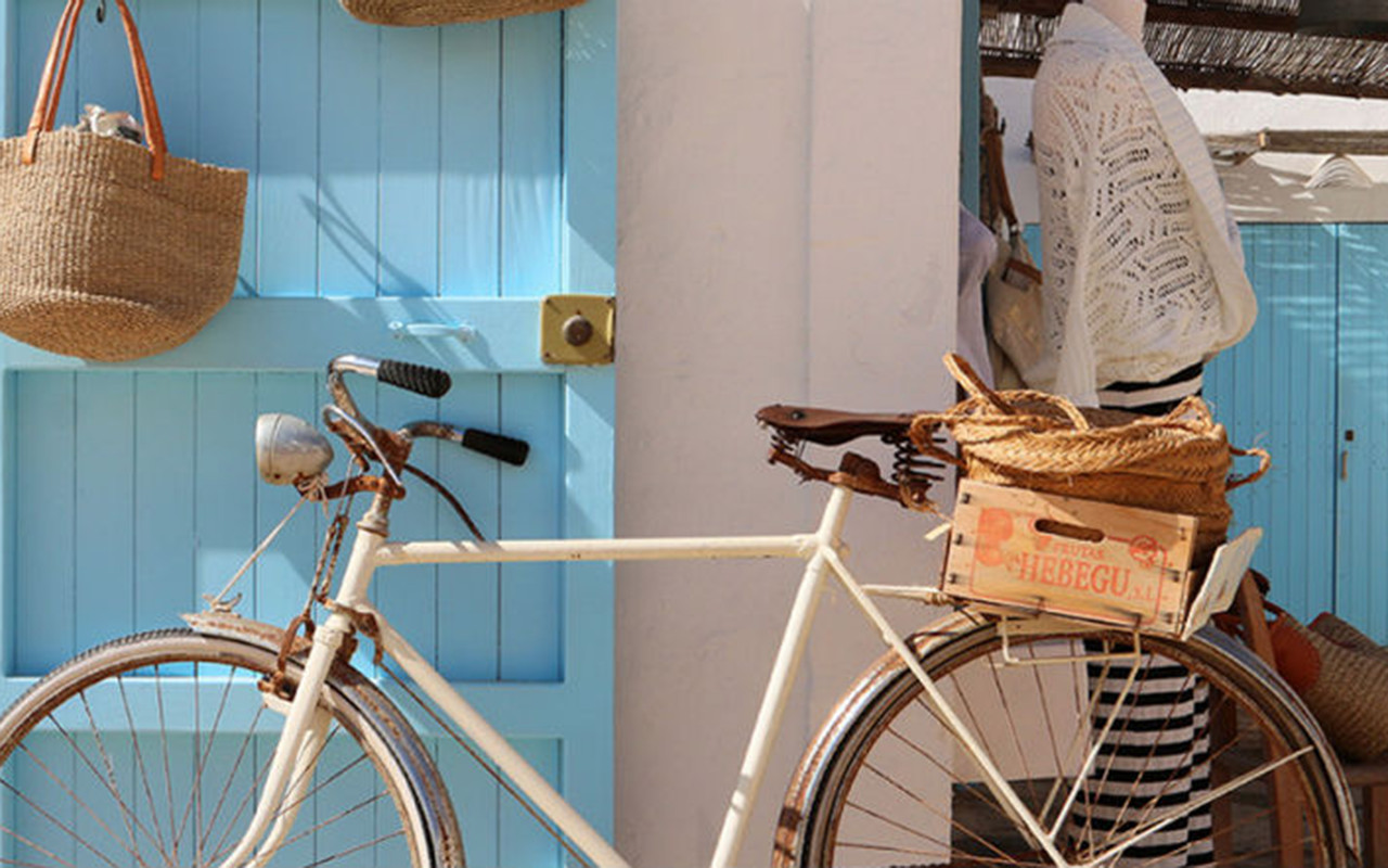 Charming corners in Formentera.