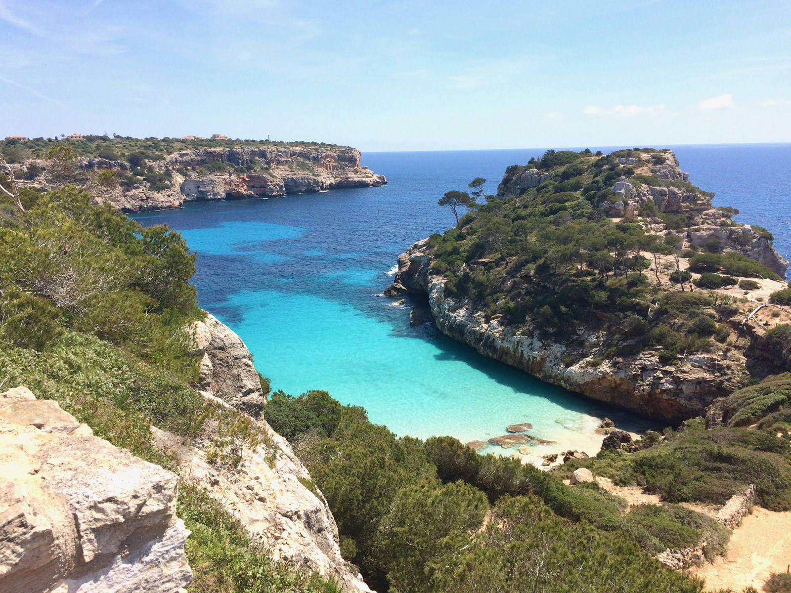 Caló des Moro is one of the most spectacular coves of Majorca