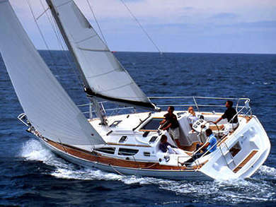 Hire sailboat Sun Odyssey 35 in Lefkada - Ionian Islands
