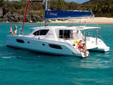 Rental catamaran Sunsail 444 in Palma de Mallorca - Majorca (Balearic Islands)