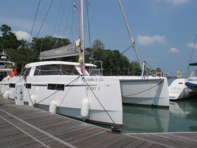 Rental catamaran Nautitech Open 40 in Phuket city - Phuket