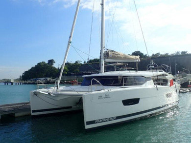 Charter catamaran Lucia 40 in Phuket city - Phuket