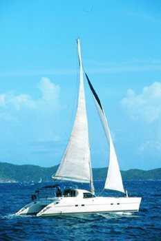 Charter catamaran Sunsail 42 in Road Town - Tortola
