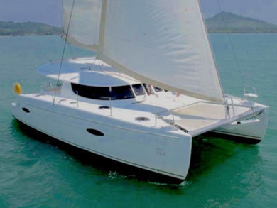 Charter catamaran Lipari 41 in Phuket city - Phuket