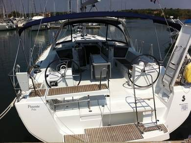 Charter sailboat Oceanis 45 in  - Istria