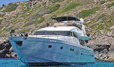 Rental exclusive yacht Princess 78 in Palma de Mallorca - Majorca (Balearic Islands)