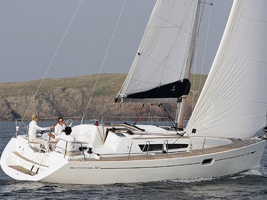 Charter sailboat JEANNEAU SO 36i in Sant Antoni de Portmany - Ibiza (Balearic Islands)