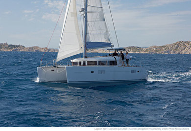 Rental catamaran Lagoon 400 in Portisco - Olbia-Tempio (Cerdeña)
