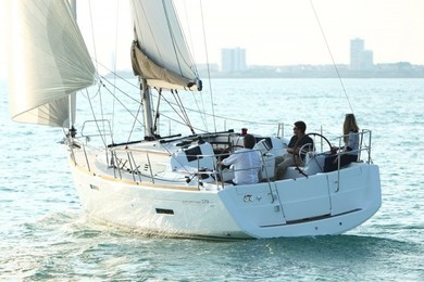 Charter sailboat JEANNEAU SO 379 in Sant Antoni de Portmany - Ibiza (Balearic Islands)