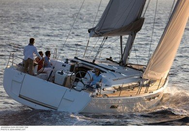 Charter sailboat JEANNEAU SO 509 in Sant Antoni de Portmany - Ibiza (Balearic Islands)