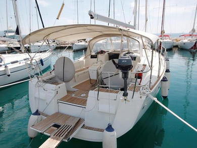 Rental sailboat Sun Odyssey 439 in  -