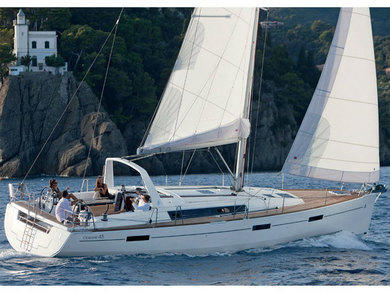 Rental sailboat Oceanis 45 (4 cabins, standart mainsail) in Tivat city - Tivat