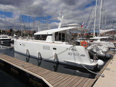 Hire exclusive yacht Lagoon 40 MY in  -