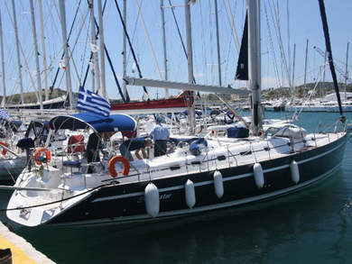 Charter sailboat Ocean Star 56.1 in Vlichada - Cyclades Islands