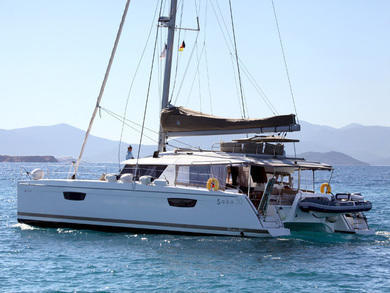 Rental catamaran Saba 50 in Mykonos - Cyclades Islands