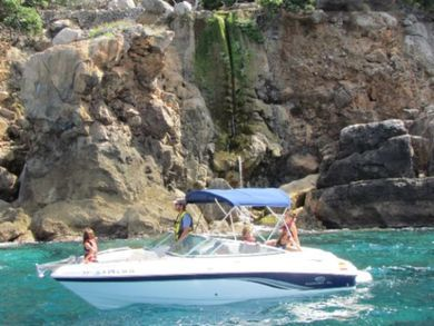 Charter motorboat Chaparral 204 SSI Bowrider in Soller - Majorca (Balearic Islands)