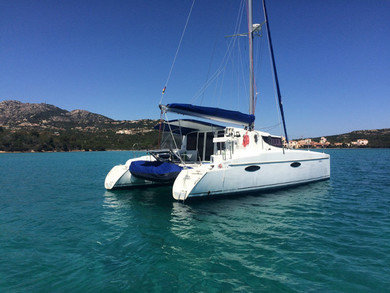 Hire catamaran Mahe 36 in Portisco - Olbia-Tempio (Sardinia)