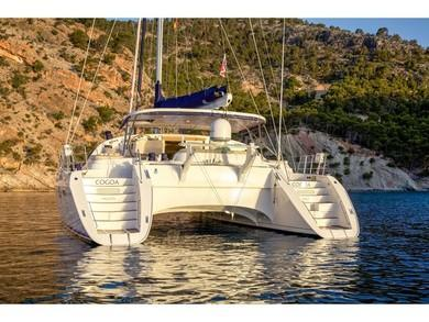 Rental catamaran Privilege 585 in Olbia city - Olbia-Tempio (Sardinia)