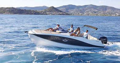 Hire motorboat Quicksilver activ 755 Sundeck in Split city - Split