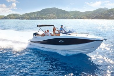 Rental motorboat Quicksilver 755 Activ in Port de Alcudia - Majorca (Balearic Islands)