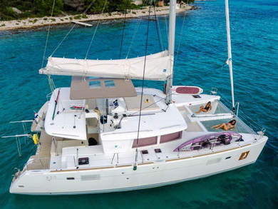 Rental catamaran Lagoon 450 Luxury NEW in Trogir - Split