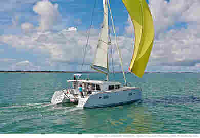 Rental catamaran Lagoon 400 S2 in Olbia city - Olbia-Tempio (Sardinia)