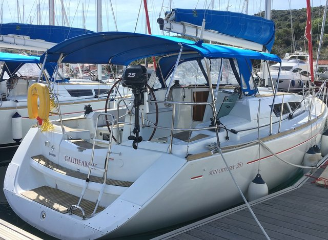 Rental sailboat Sun Odyssey 36i in Primosten - Sibenik