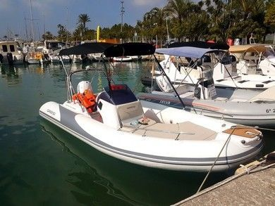 Rental motorboat Grand 500 in Port de Alcudia - Majorca (Balearic Islands)