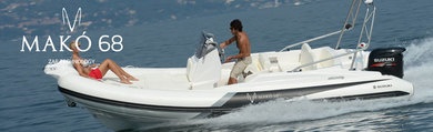 Hire motorboat ZAR 68 MAKO in Port de Alcudia - Majorca (Balearic Islands)
