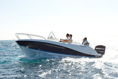 Rental motorboat Quicksilver 605 Activ in Port de Alcudia - Mallorca (Islas Baleares)