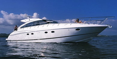 Rental motorboat Princess V53 in Ibiza city - Ibiza (Balearic Islands)