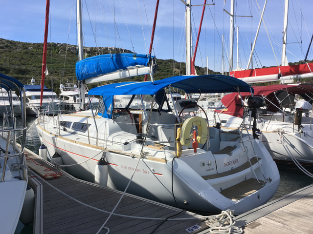 Hire sailboat Sun Odyssey 36i in Primosten - Sibenik
