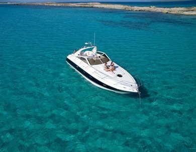 Rental motorboat Princess V40 in Ibiza city - Ibiza (Balearic Islands)